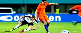 热身赛:奥地利0-2荷兰(组图)