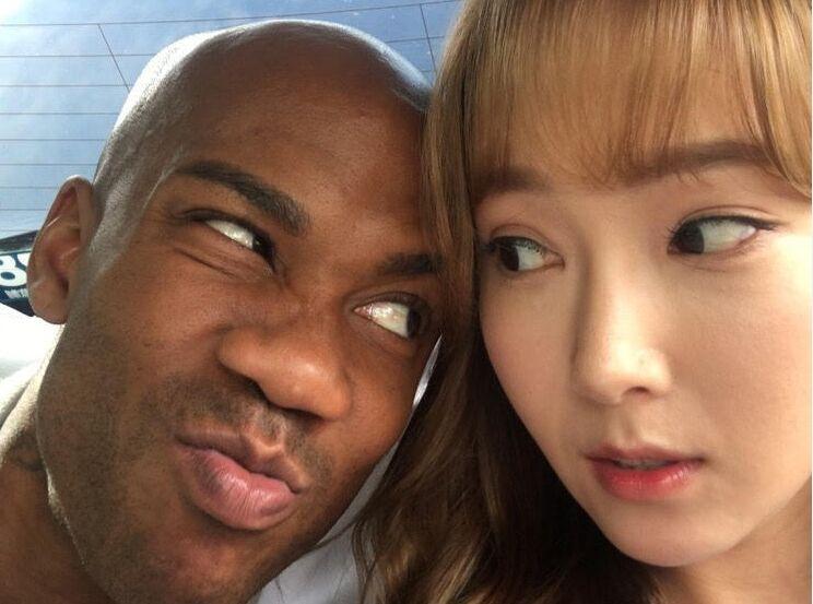 男篮球员马布里片场艳福