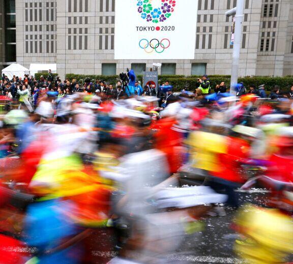 2015年2月22日,2015东京马拉松开跑