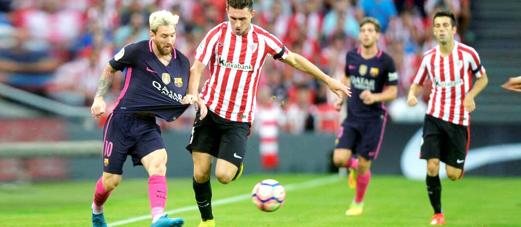 西甲:毕尔巴鄂0-1巴塞罗那